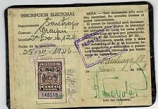 Chile Document with $5 revenue year 1943