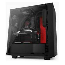 NZXT S340 Elite Black/Red Gaming PC Case with HDMI VR Support, 2 x USB 3.0