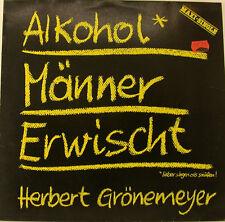 """HERBERT GRÖNEMEIER ALKOHOL MÄNNER ERWISCHT 12"""" MAXI SINGLE (h322)"""