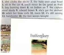 BUTTERGLORY - ARE YOU BUILDING A TEMPLE IN HEAVEN - OZ 14 TRK CD - INDIE