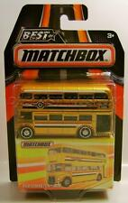 ROUTEMASTER TOUR BUS BEST OF MATCHBOX RUBBER TIRES RR DIECAST 2016