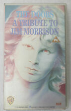 (PRL) VIDEOCASSETTA VHS CASSETTE THE DOORS A TRIBUTE TO JIM MORRISON
