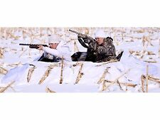 Banded 2-Man Layout Blind Snow Cover 600D Fabric Waterfowl Winter Hunting Shooti