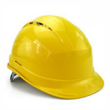 Deltaplus venitex Construction Ratchet Hard Hat Safety Helmet Diamond V Yellow