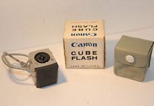 CANON CUBE FLASH / BULB FLASH , BOXED
