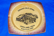 Vintage 50s Grand Ole Opry Ashtray Opryland USA Old Opera Advertising Cigarette