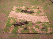 "28mm, Painted Terrain, 3"" Special road section, WW2,AWI,ACW and more (L)"