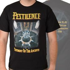 PESTILENCE-TESTIMONY OF THE ANCIENTS-T-SHIRT-MEDIUM-RARE