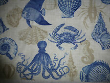 SEASIDE Outdoor Fabric SHELLS - For Garden Furniture -  By the Yard
