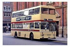 pt7558 - Leicester Corporation Bus no 274 in City Centre - photograph 6x4