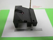 MICROSCOPE PART POLYVAR REICHERT LEICA EPI BLOCK FRONT HEAD AS IS DWR#8D