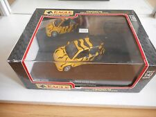 Universal Hobbies Renault Clio Maxi Presentation Course in Yellow on 1:43 in Box
