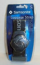 "Samsonite Luggage Strap, Charcoal Gray, up to 72"", BRAND NEW FACTORY SEALED"