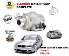 FOR BMW 523 525 530 525D 530D XI XDRIVE E60 E61 2003--  NEW ELECTRIC WATER PUMP