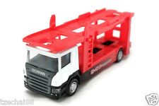 RMZ City 1:64 DIECAST Scania Car Carrier Trailer White Model COLLECTION New Gift