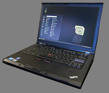 "Lenovo Thinkpad T410 14.1"" Core i5 Nvidia Quadro 4gb ram 160gb hd Linux Mint"