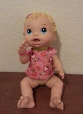"Hasbro 2011 BABY ALIVE ALL GONE DOLL Interactive Talking 13"" Strawberry yummy"