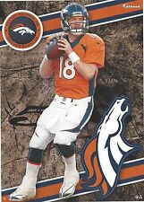 PEYTON MANNING FATHEAD TRADEABLES DENVER BRONCOS TENNESSEE VOLUNTEERS VOLS 2014