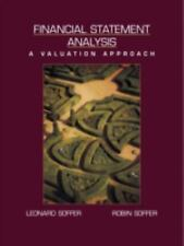Financial Statement Analysis : A Valuation Approach-ExLibrary