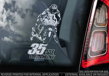Cal Crutchlow #35 - Car Window Sticker -Moto GP MotoGP Motorbike Sign TYP5 - NEW