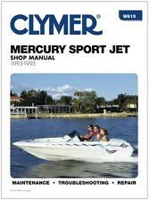 CLYMER MERCURY 90 HP SPORT JET SERVICE REPAIR SHOP MANUAL 1993-1995