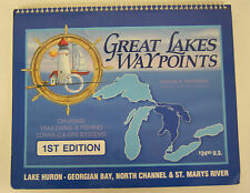 Great Lakes Waypoints 1st ED Cruising Trailering & Fishing Loran-C & GPS Systems