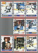 Lot of 100 1990 WAYNE GRETZKY  1990 SCORE #1-321-336-338-MORE FREE COMBINED S&H