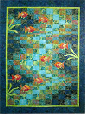 Molokini Bay Bargello Ocean Fish Quilt Pattern Quilting Time