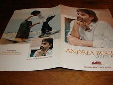ANDREA BOCELLI CIELI DI TOSCANA!!!RARE FRENCH PRESS/KIT