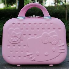 Hello Kitty Women Makeup Case Business Travel Make Up Bag Luggage Suitcase