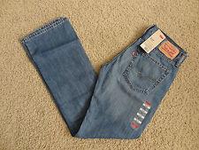 NWT-Levi's 527 Slim Boot Cut Tahoka MFO Mens Jeans Sz 32x34 $64