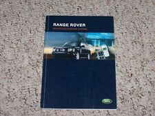 2005 Land Rover Range Rover HSE Full Size Navigation System Owner Manual Book
