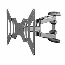 Super Slim Full Motion TV Wall Mount Bracket 32 37 40 42 47 50 52 55 60 65 inch