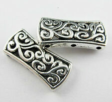Free Ship 8Pcs Tibetan Silver 3 Hole Connectors Bead For Jewelry Making 27x12mm