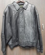 Marc Jacobs Vintage Leather Jacket Mens Size X-Large Tall Rare New York