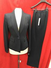 "LESUIT PANT SUIT/NEW WITH TAG/SIZE 14/LINED/RETAIL$200/INSEAM32""/NAVY STRIPE"