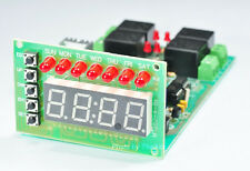 7 Day Digital Clock Timer 128 Program 4 Channel 12V/10A Relay Output EEPROM