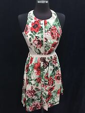 """ADRIANNA PAPELL /SIZE 6/RETAIL$140/ /NORDSTORM DRESS/COTTON STRETCH/LENGTH 37"""""""