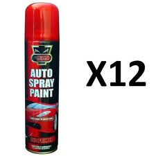 H-Quality12 X Red Primer Aerosol Spray Cans 300ml Cars&Vans ETC Auto Spray Paint