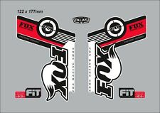 FOX 32 FACTORY SERIES FORK DECAL SET RED VERSION