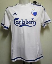 COPENHAGEN 2015/16 S/S HOME SHIRT BY ADIDAS ADULTS SIZE LARGE BRAND NEW