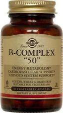 "Solgar Formula Vitamin B-Complex ""100""  50 Vegetable Capsules"