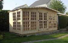 16x8 summer house/log cabins/summerhouse/wooden shed