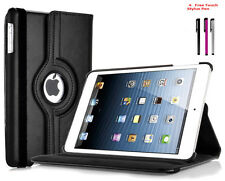 Apple iPad Air 2  360 Degree Rotating Pu Leather Smart Case Cover Stand Black