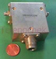 RF microwave single junction circulator 1986 MHz CF/  959 MHz BW/  75 Watt/ data