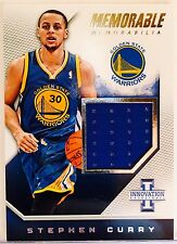 2013-14 Innovation Stephen Curry Jersey Card #71/175 Warriors Game Used