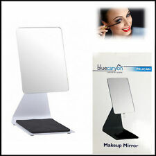 Pelican Free Standing Make Up Mirror Beauty Dressing Tabletop Cosmetic Touch BK