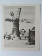 Molino de impresión mayormente carretera por Barbara Jones 1946