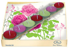 20 Paper Napkins with 5 Tea Lights Candles MADELINE ROSA Decoration DECOUPAGE