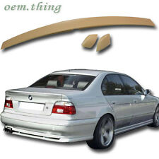BMW E39 5-Series 4D SEDAN A Type 3 Pcs REAR TRUNK SPOILER WING 97-03 520i 525d